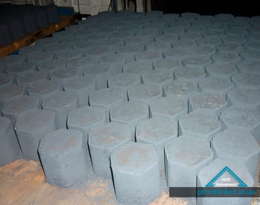 Titanium briquette