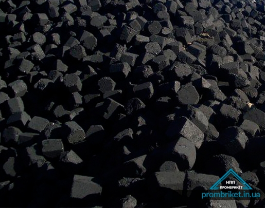 Iron-bearing briquette - 55%
